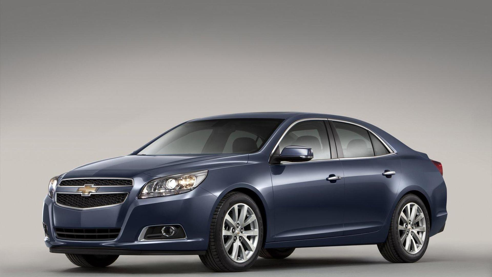 2013 Chevy Malibu details announced at Auto Shanghai