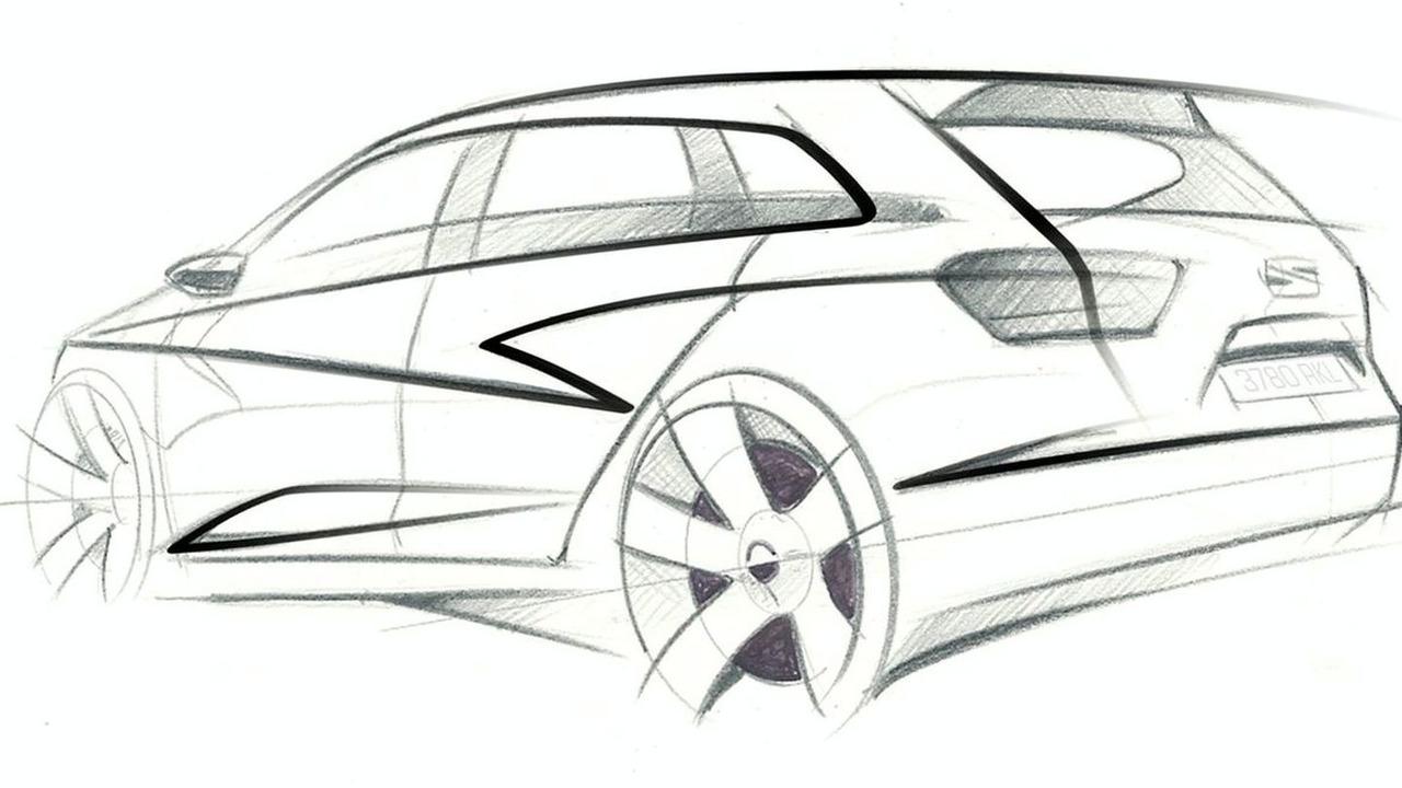 Seat Ibiza ST Concept Sketch
