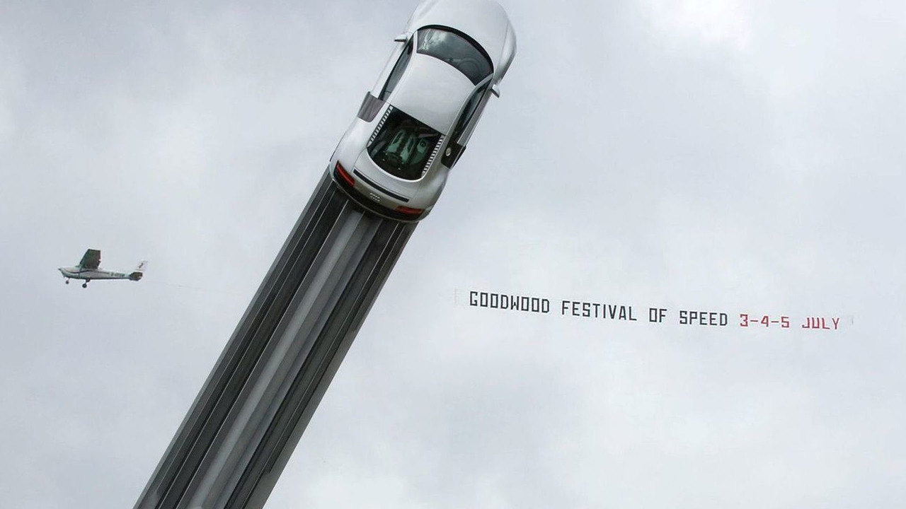 Audi momument teaser image released ahead of Goodwood FOS 2009 unveiling