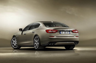 2013 Maserati Quattroporte Tastefully Refreshed Ahead of Detroit Debut