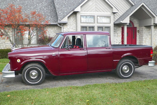 This '77 Checker Was Once a Taxi, Now a Pickup Truck