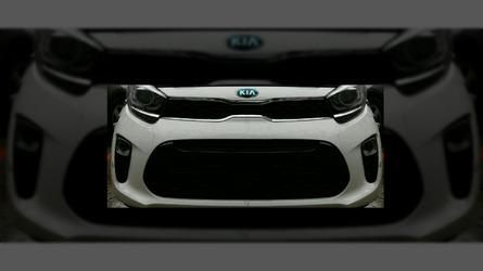 New Kia Picanto shows off its sporty front fascia