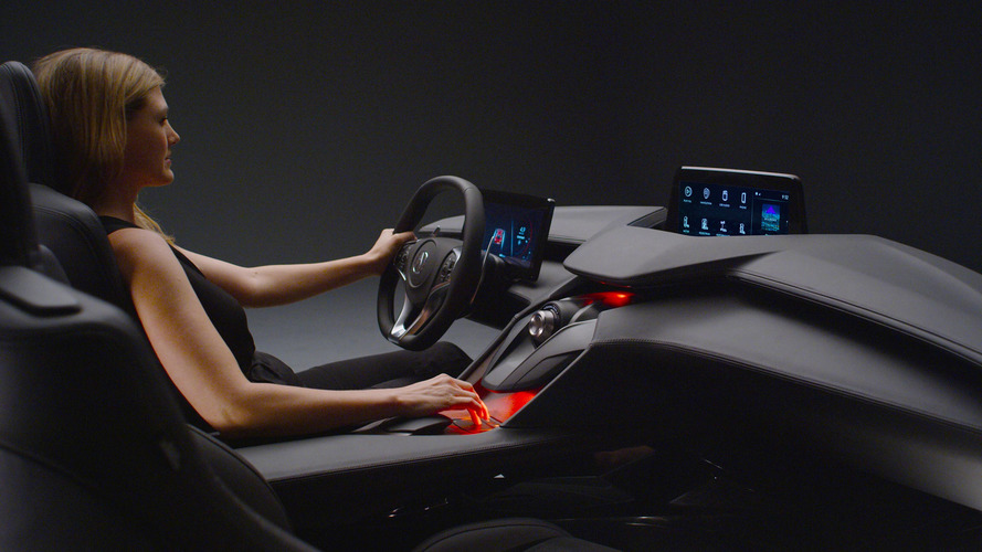 Acura Precision Cockpit Concept tries to predict the future of driving