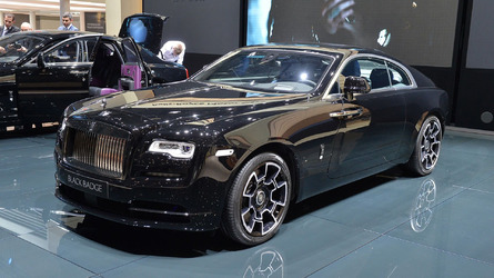Rolls-Royce Ghost, Wraith gain bespoke Black Badge editions