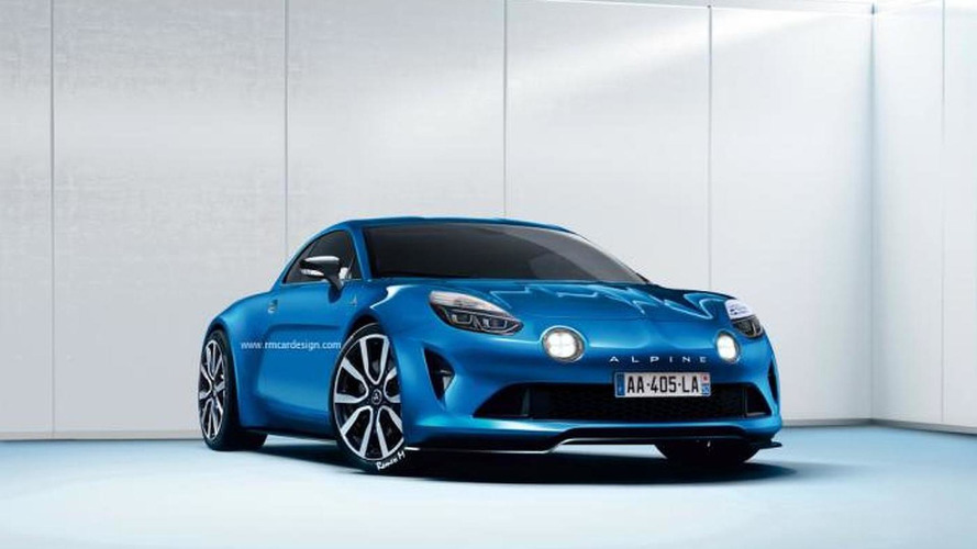 Production Renault Alpine to feature 1.8 turbo with up to 300 PS