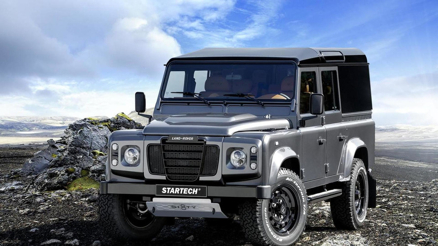 Startech introduces their Land Rover Defender Sixty8