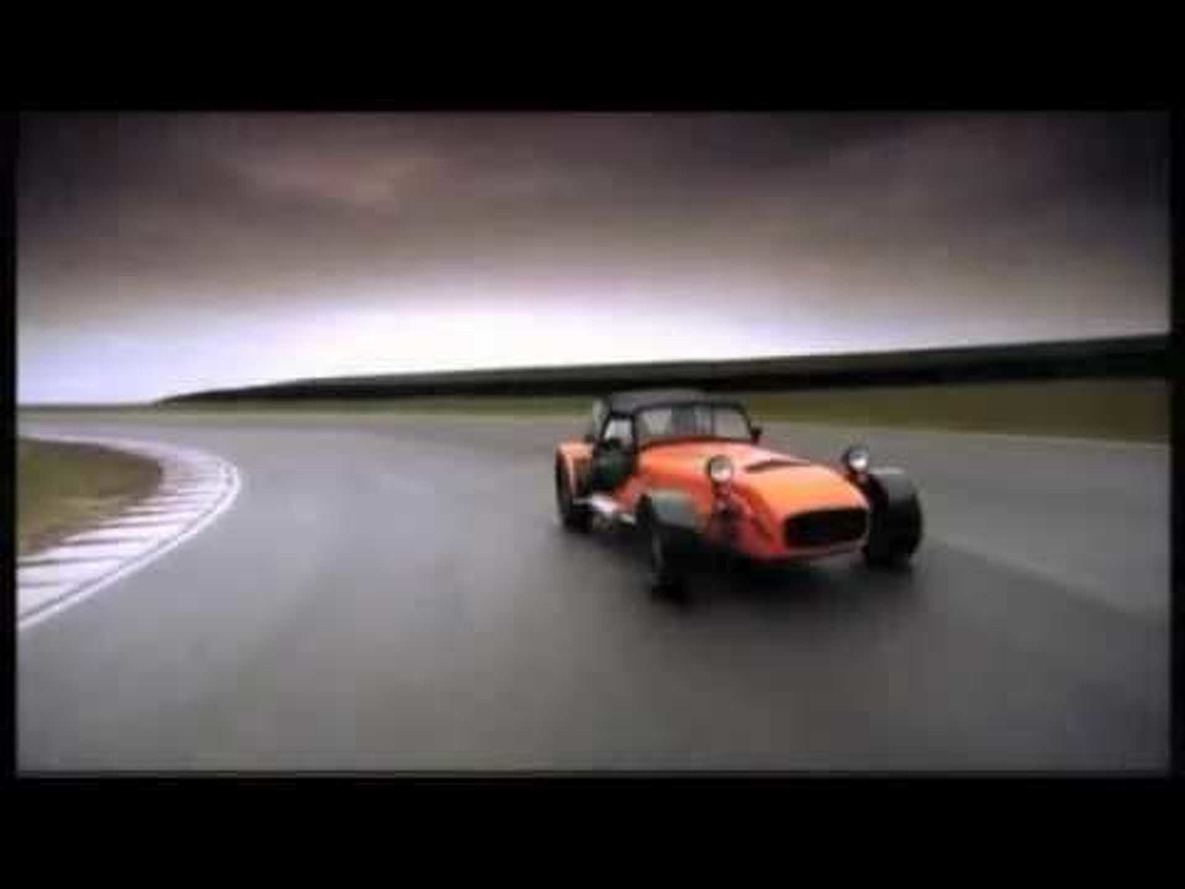 Caterham 7 (would be) Superbowl Commercial