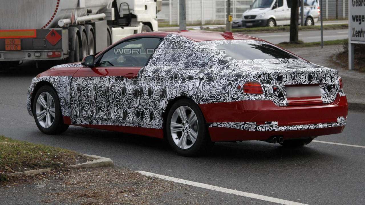 BMW 4-Series Coupe production version spy photo 19.12.2012 / Automedia