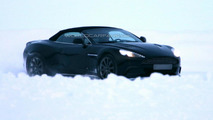 Aston Martin Vanquish Volante spied for the first time