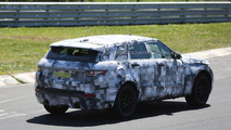 Jaguar crossover spy photo