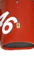 Ferrari 500 F2 handmade reproduction model in 1:1.8 scale