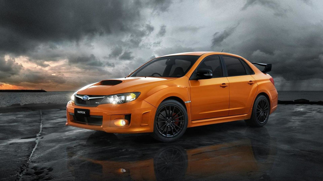 Subaru Impreza WRX Club Spec limited edition 10.07.2012