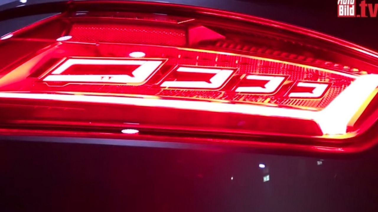 2016 Audi TT RS with OLED taillights