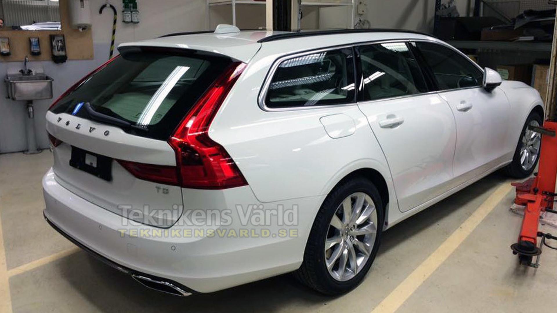 Volvo V90 teased before February 18 reveal [videos]