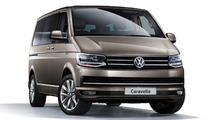 VW Caravelle goes sporty with 204 hp turbo engine