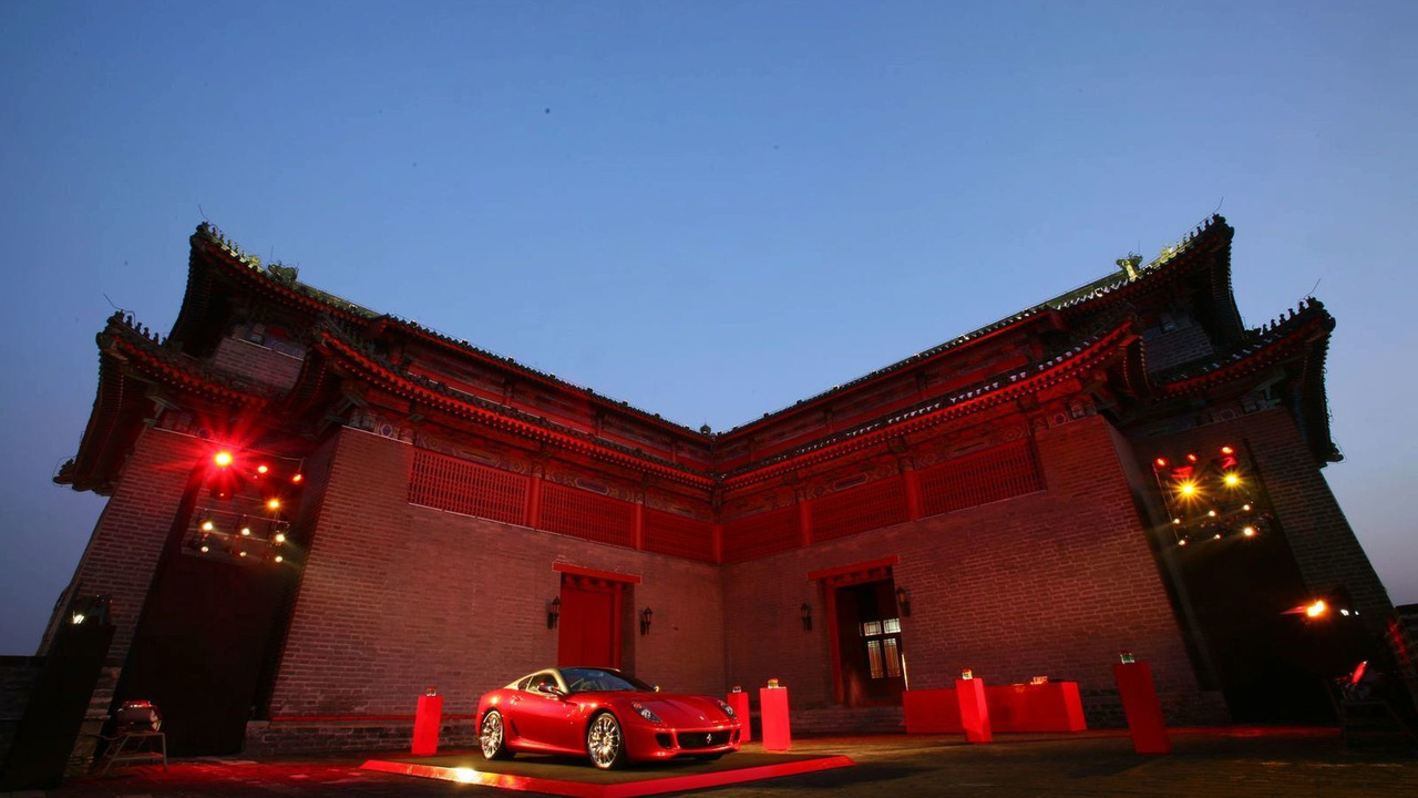 Ferrari 599 China Limited Edition at Red Gate Gallery - venue of the auction - 11/03/2009