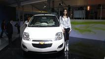 Chevrolet Spark EV live at 2010 New Delhi Auto Expo - 1200 - 06.01.2010