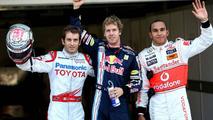 Vettel on pole after Suzuka crash-fest - results