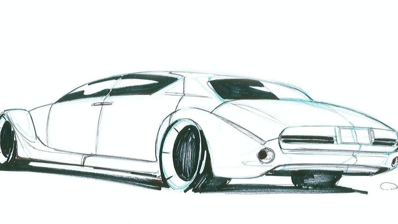 Bufori MKVI Luxury Saloon teaser sketch - 17.02.2010