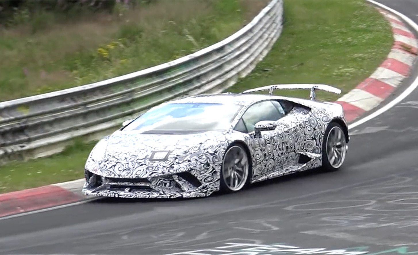 Could This Be the Latest Lamborghini Huracán Supercar?