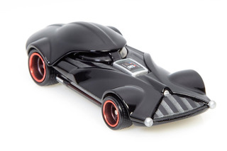 Hot Wheels Roll Out the Darth-mobile for Comic-Con