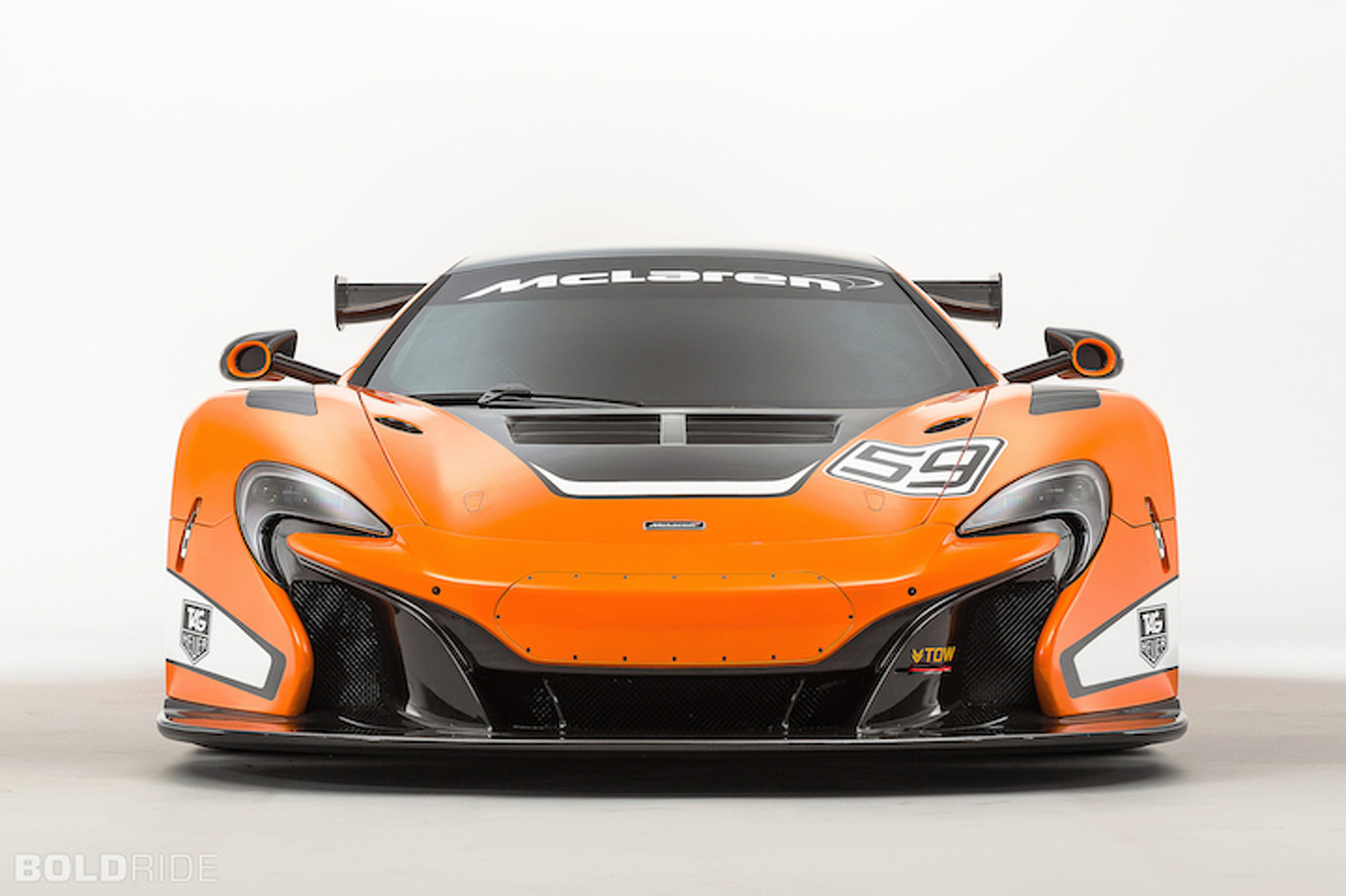 McLaren 650S Gets Done Up In Spectacular GT3 Fashion