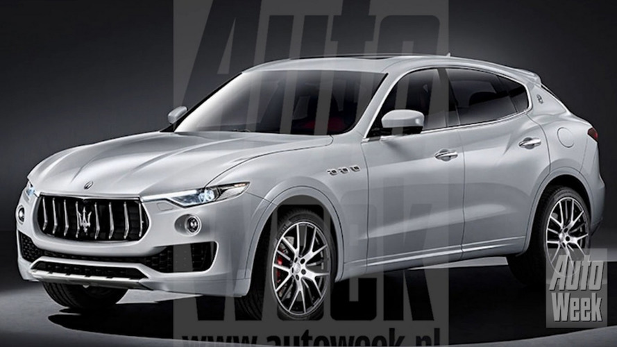 Maserati Levante leaked, has up to 430 hp