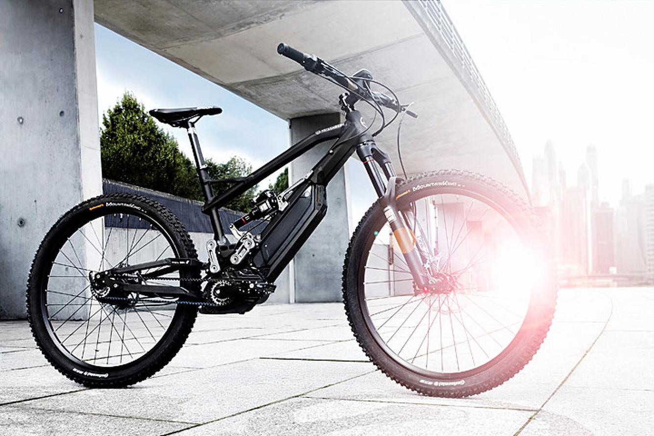 This Trail-Ready e-Bike Packs BMW i Technology