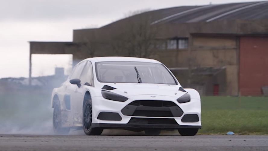 Watch Ken Block meet (and drift) the Ford Focus RS RX