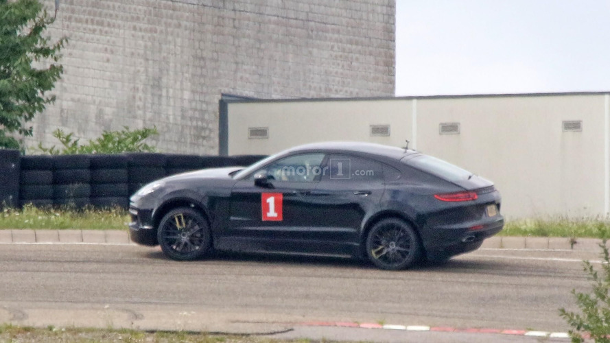Recently spotted Porsche Cayenne Coupe is actually an EV mule