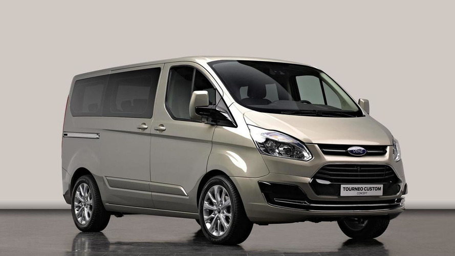 Ford Tourneo Custom Concept previews new Transit van