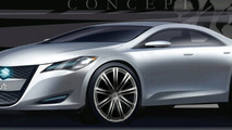 Suzuki Kizashi 3 Concept Headed for New York
