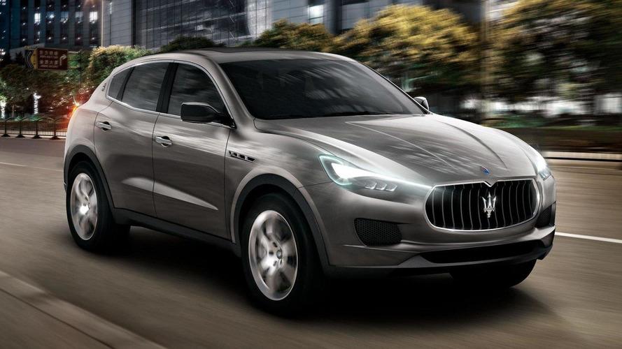 Maserati Kubang SUV revealed in Frankfurt [videos]
