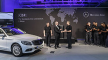 2014 Mercedes C-Class goes into production [video]