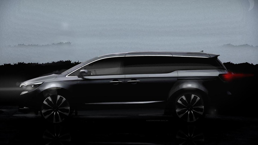 Kia teases 2015 Sedona/Carnival once again, will feature new chassis