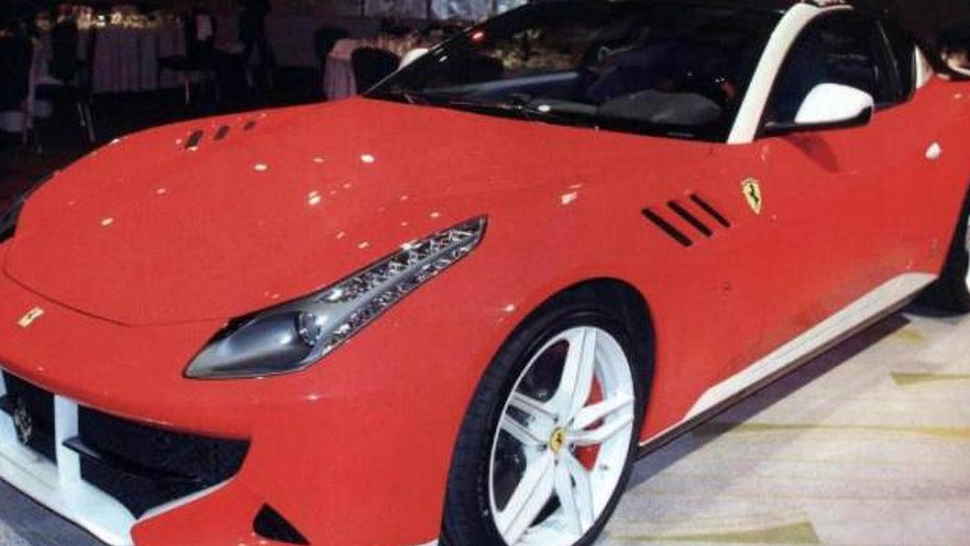One-off Ferrari SP FFX first photo emerges, isn't the prettiest prancing horse out there