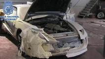 Ferrari replicas seized by Spanish police 05.8.2013