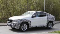 2015 BMW X6 prototypes spied in southern Germany