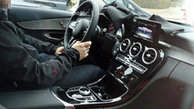 Take a peek inside the 2018 Mercedes C-Class facelift