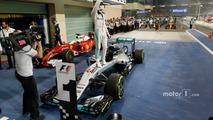 Race winner Lewis Hamilton, Mercedes AMG F1 W07 Hybrid