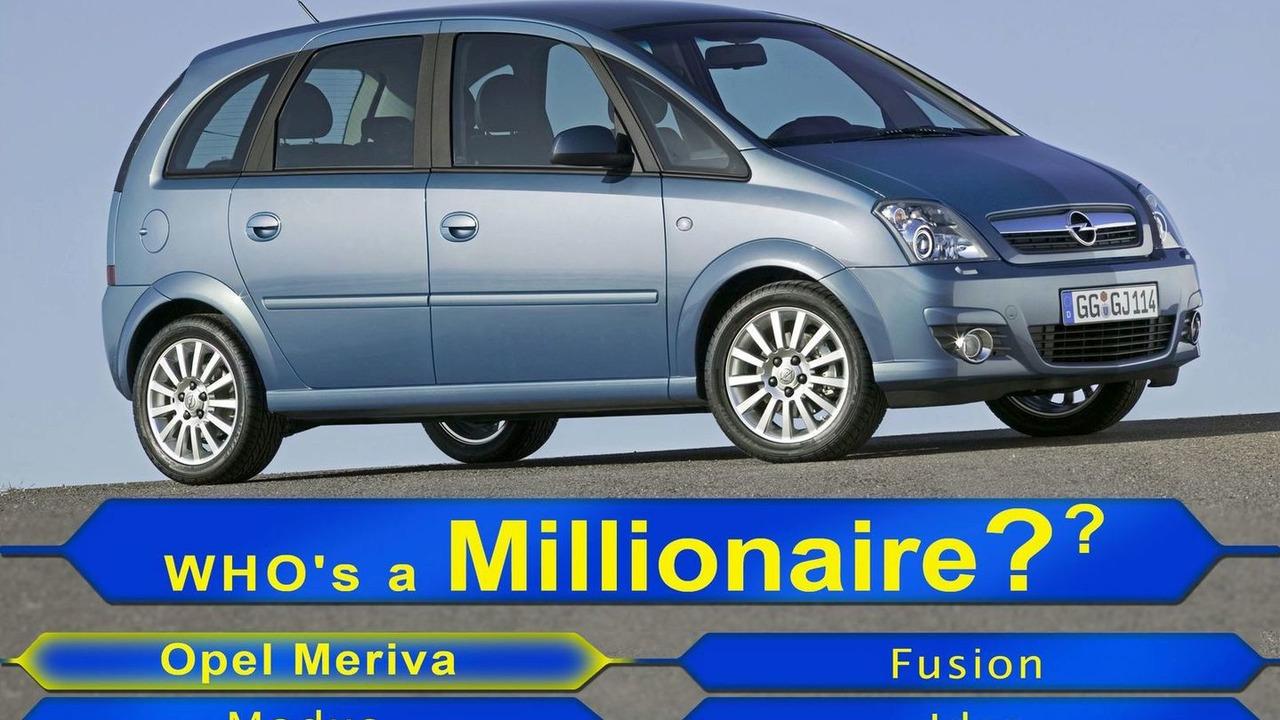 One millionth Opel Meriva rolls off the line
