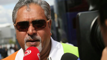 Force India's future 'not in jeopardy' - Mallya