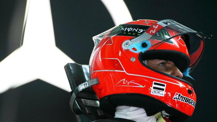 Schumacher admits F1 test ban 'paradox'
