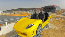 Ferrari World Abu Dhabi GT Roller Coaster First Image Released