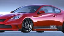 Hyundai Reveals Three Genesis Coupe Projects at SEMA 2008