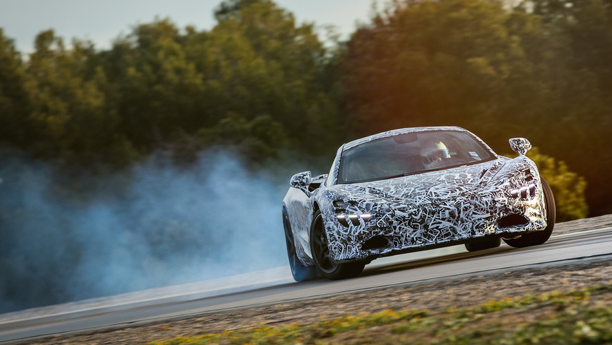 McLaren 720S to get drift mode