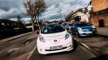 Nissan Leaf autonomous testing in London
