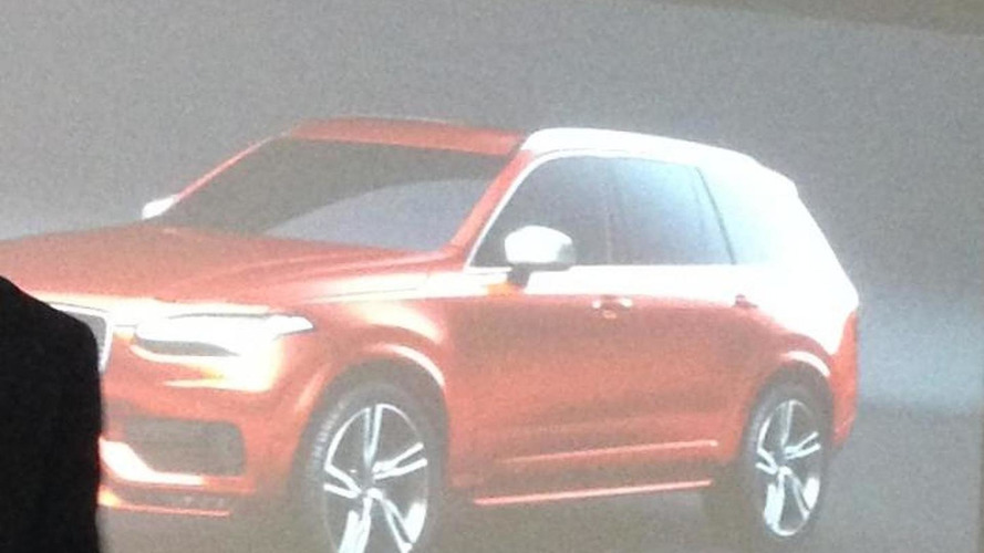 2016 Volvo XC90 R-Design leaked?