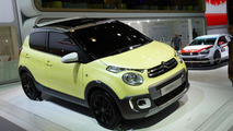 Citroen C1 Urban Ride concept drops its top in Paris