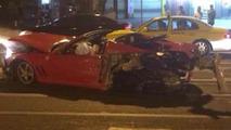 Rare Ferrari 575M Superamerica meets its doom